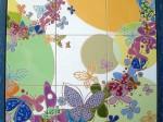 柳沢一枝さんの作品「蝶」2010年制作
