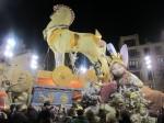 Na Jornadaの火祭り人形。