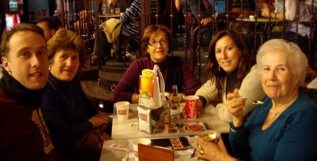 私のスペイン人家族。