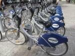 バレンシアの公共貸し自転車valenbisi